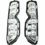 Scion Xb 2013-2015 Right Left Daytime Running Lights Bumper Driving Lamps Pair