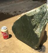 Big Chunk Of Rough Wyoming Green Jade For Cutting Carving 94.5 Lbs