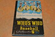 1948 Who's Who Autographed By Mickey Vernon, George Kell, Etc Must See