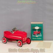Hallmark Kiddie Cars 1940 Gendron Red Hot Roadster Diecast Collectible Qhg9037le