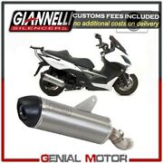 Full Exhaust System Giannelli Aluminum + Cat For Kymco Xciting 400i 2012 2016