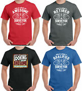 Surveyor T-shirt This Is What A Looks Like Mens Funny Surveying Building Charter