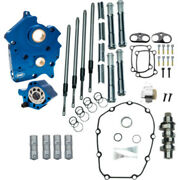 Sands M8 Cam Plate Oil Pump Kit Package Chrome 465c Chain Harley Touring Softail