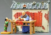King And Country The Streets Of Old Hong Kong Hk129g Chinese Sign Writer Set Mib