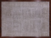 Vintage White Wash Hand Knotted Wool Rug 9' 6 X 12' 9 - Q2563