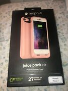 Mophie Juice Pack Air Battery Case Wireless Charging Apple Iphone 8 7 Rose Gold