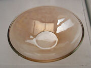 Pale Amber Small Glass Bowl Suitable For Nuts Bon Bons Etc