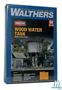 Walthers 933-3531 Wood Water Tank Kit Ho Scale Train
