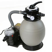 2640 Gph Self Priming Swimming Pool Pump W/ Timer 13 Sand Filter Above Ground