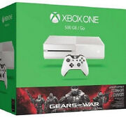Microsoft Xbox One 500gb White Console/account With Over 100 Games Included