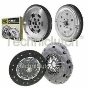 Nationwide 2 Part Clutch Kit And Luk Dmf For Vw Caddy Estate 2.0 Tdi 4motion