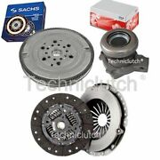 2 Part Clutch Kit And Sachs Dmf With Fte Csc For Opel Vectra C Estate 2.0 Dti