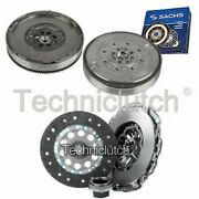 Nationwide 3 Part Clutch Kit And Sachs Dmf For Bmw 3 Series Hatchback 320 Td