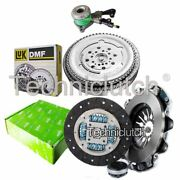 Valeo 3 Part Clutch Kit And Luk Dmf And Csc For Mercedes-benz Vito Bus 113 2.0