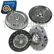 Nationwide 2 Part Clutch Kit And Sachs Dmf For Vw Caddy Box 2.0 Tdi 16v