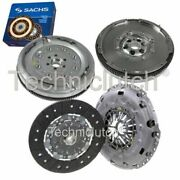 Nationwide 2 Part Clutch Kit And Sachs Dmf For Vw Caddy Box 2.0 Tdi 16v 4motion