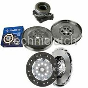 2 Part Clutch Kit And Sachs Dmf With Csc For Vauxhall Vectra Hatchback 1.9 Cdti