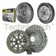 Nationwide 3 Part Clutch Kit And Luk Dmf For Bmw 5 Series Berlina 524 Td