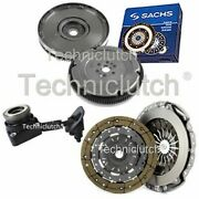 Nationwide 2 Part Clutch And Sachs Dmf With Csc For Ford Focus Convertible 2.0