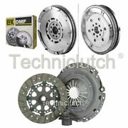Nationwide 3 Part Clutch Kit And Luk Dmf For Bmw 5 Series Estate 523i
