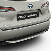 Genuine Toyota Corolla Touring Sports 2019 Rear Bumper Protection Plate Steel