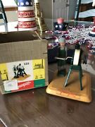 1950's Fleischmann 235 The Grindstone Operator With Box For A Live Steam Engine