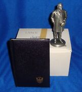 Lance Fine Pewter American President Figurine Herbert Hoover With Box/book