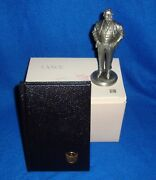 Lance Fine Pewter American President Figurine William Taft With Box/book