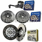 Luk Clutch And Sachs Dmf With Sachs Csc For Ford Transit Platform/chassis 2.0 Di