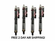 Elka Stage 5 Front And Rear Shocks Suspension Kit Arctic Cat Wildcat 1000