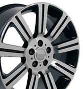 Npp Fit 20 Wheel Land Rover Discovery Stormer Lr01 Blkmach 20x9.5 72200