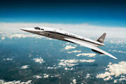 Air France Concorde Supersonic Airliner 16x24 Silver Halide Photo Print