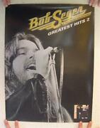Bob Seger And The Silver Bullet Band Poster Greatest Hits 2 Two Sided