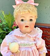 Amazing Hard To Find K Star R Antique Doll- Simon And Halbig- 21 Inch Character