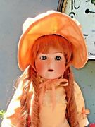 Amazing 100 Year Old — Simon And Halbig K Star R Antique Doll- 25 Inch