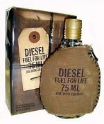 Diesel Fuel For Life For Men Cologne 2.5 Oz Edt Spray New In Box
