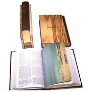 The Holy Bible King James Version With Olive Wood Cover
