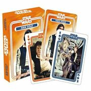 Aquarius Officially Licensed Star Wars Han Solo Designed Fun Playing Cards