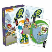 Aquarius Officially Licensed Rocket Power Designed Multi Image Playing Cards
