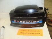 1980 81 Mercury Outboard 9.8hp Boat Motor Hood Cowl Cover Top Cowling