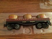 Lionel 26494 Prr Truss Rod Gondola Car With Vats New In Box