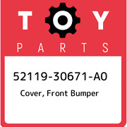 52119-30671-a0 Toyota Cover Front Bumper 5211930671a0 New Genuine Oem Part