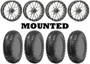 Kit 4 Cst Lobo Rc Tires 32x10-14 On System 3 St-3 Machined Wheels H700