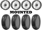 Kit 4 Cst Lobo Rc Tires 32x10-14 On System 3 St-3 Machined Wheels Can