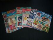 2016-2018 Craft And Crochet Kits Magazines Lot Of 5 - Includes Extras- O 2293
