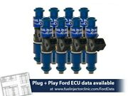 Fic 1650cc For 87-04 Ford Mustang Gt Cobra Fuel Injector Clinic Injector Set