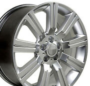 Npp Fit 22 Wheel Land Rover Discovery Stormer Lr01 Hypsilver 22x10 72200