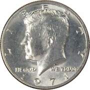 1971 Kennedy Half Dollar Bu Uncirculated Mint State 50c Us Coin Collectible