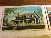 Lot Of 4 Early /vintage Postcards Iris Hills Mich Walker Tavern And More.