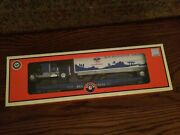Lionel 26666 Boy Scouts Of America Trailer On Flat Car With Truck Cab New In Box